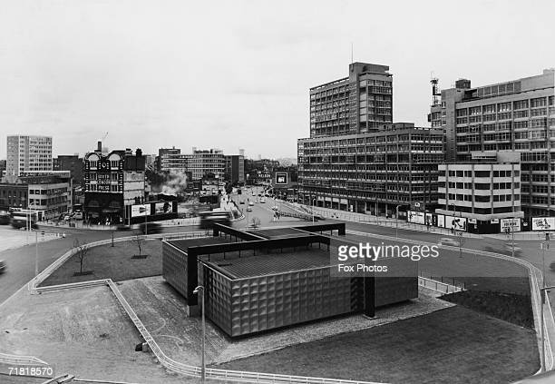The new development at Elephant and Castle 9th August 1966 The offices of the South London Press can be seen to the left