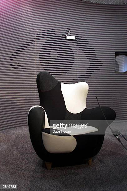 """The new diary chair for the """"Big Brother 2"""" house on April 28, 2001 in London."""
