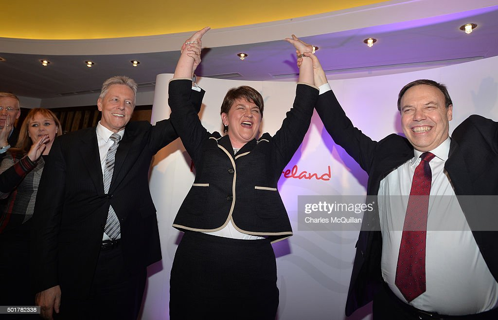 Arlene Foster Becomes First Female Leader Of The DUP