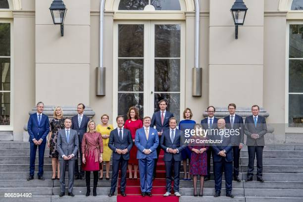 The new Dutch cabinet Minister of Education Culture and Science Arie Slob Minister for Foreign Trade and Development Cooperation Sigrid Kaag Minister...