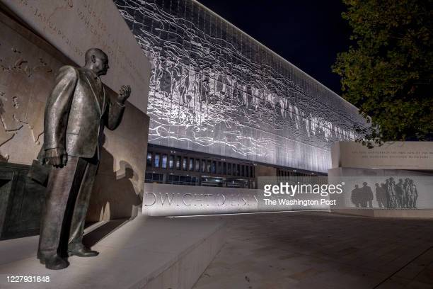 The new Dwight D. Eishenhower Memorial designed by world-renowned architect Frank Gehry, will open in September of 2020. The memorial encapsulates...