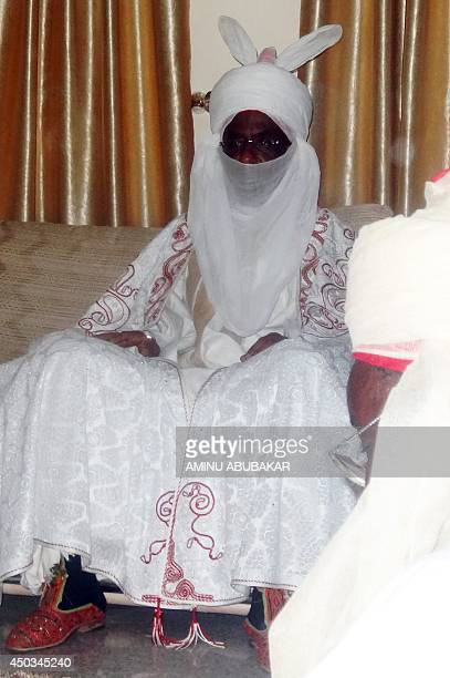 The new emir of the ancient northern Nigerian city of Kano and former Governor of Central Bank Sanusi Lamido Sanusi receives homages from Kano...