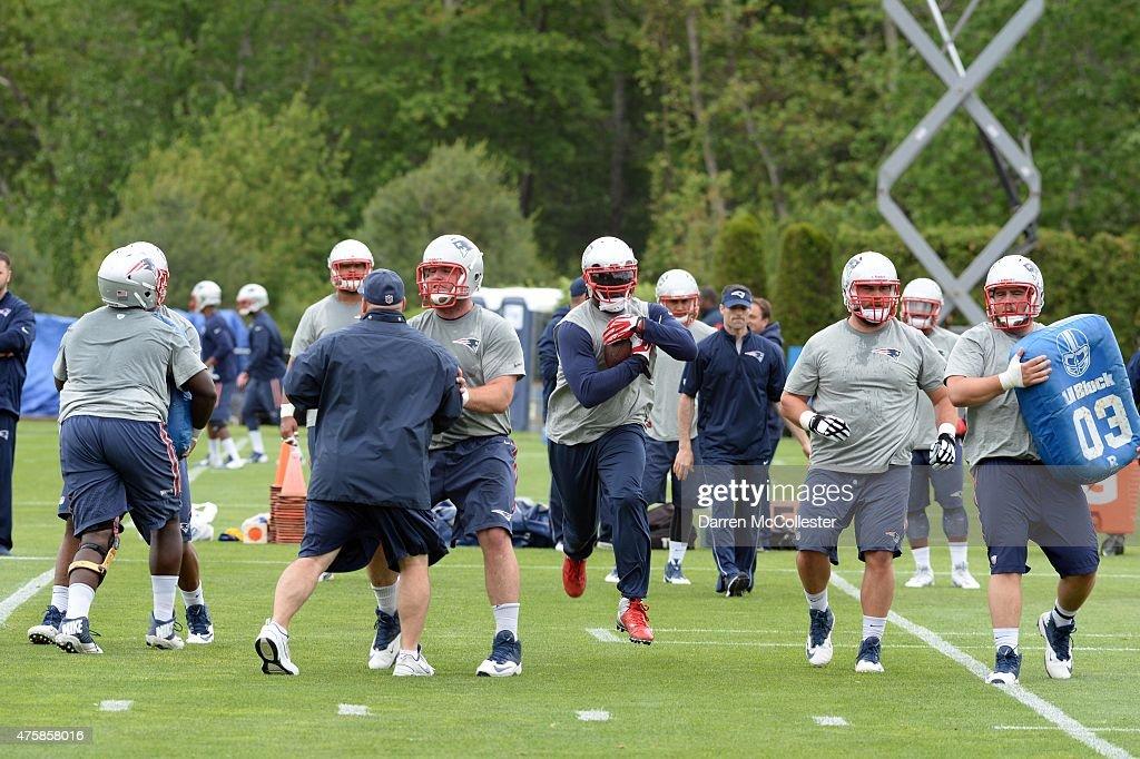 New England Patriots OTA's : News Photo