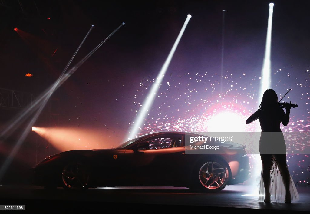 The new Ferrari 812 Superfast is seen at its Australasian Premiere on June 28, 2017 in Melbourne, Australia. The 812 Superfast is the most powerful and fastest Ferrari in the carmakers history, reaching 0-100 km/h in just 2.9 seconds.