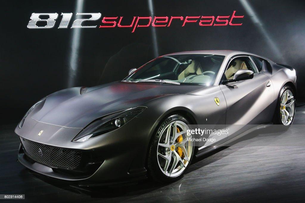 Ferrari Fastest Model In Company History : News Photo