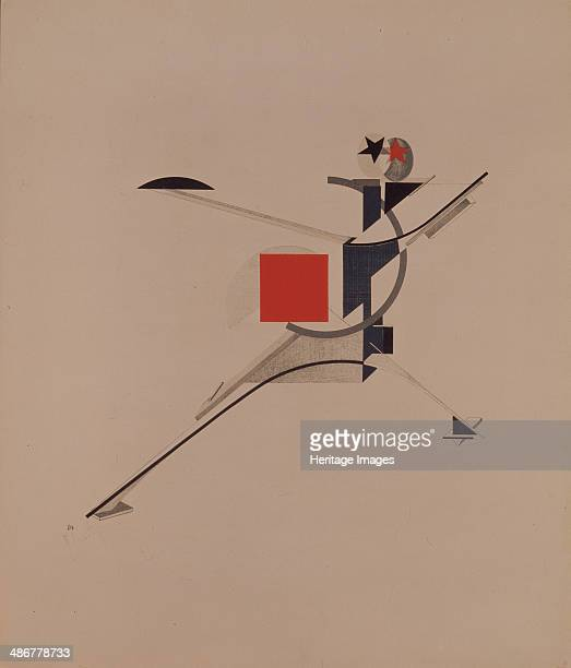 The New Figurine for the opera Victory over the sun by A Kruchenykh 19201921 Artist Lissitzky El