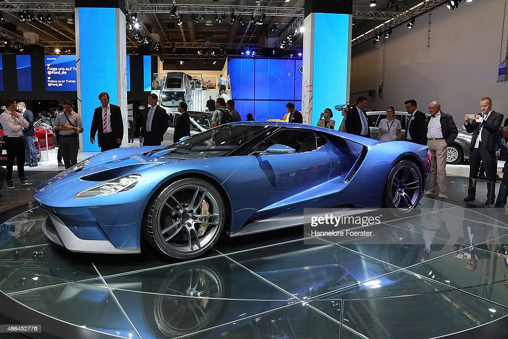 2015 IAA Frankfurt Auto Show : News Photo