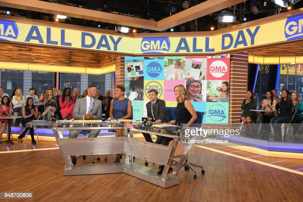 AMERICA The new GMA Digital is announced on 'Good Morning America' Thursday April 19 airing on the ABC Television Network MICHAEL