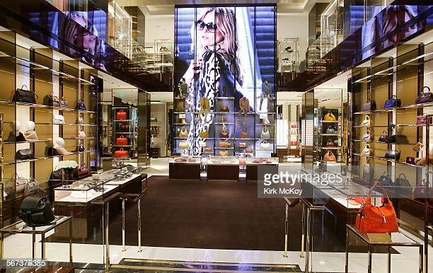 7397443b2bd HILLS CA OCTOBER 29 The New Gucci store on Rodeo Drive includes men s  women s accessories and
