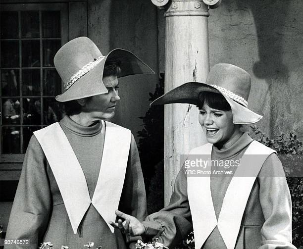 NUN The New Habit Season Three 11/19/69 Sisters Jacqueline and Bertrille displayed their stylish new habit which featured a wingless bonnet