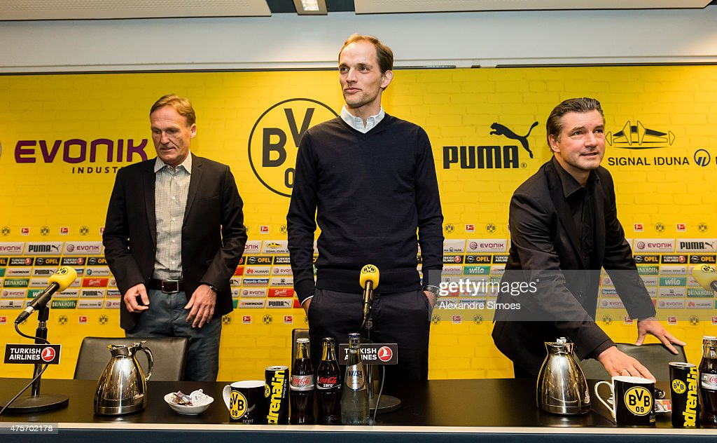 Borussia Dortmund - Press Conference : News Photo