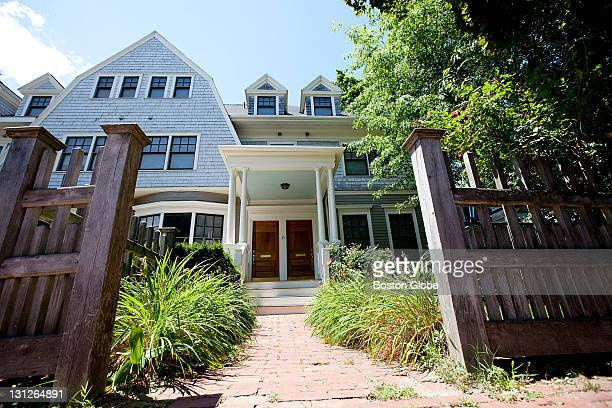 The new home of alleged Russian spies Ronald Heathfield and Ann Foley at 35B Trowbridge St in Cambridge Mass on Tuesday June 29 2010