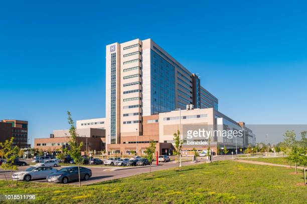 the new humber river hospital in toronto ontario canada - hospital building stock photos and pictures