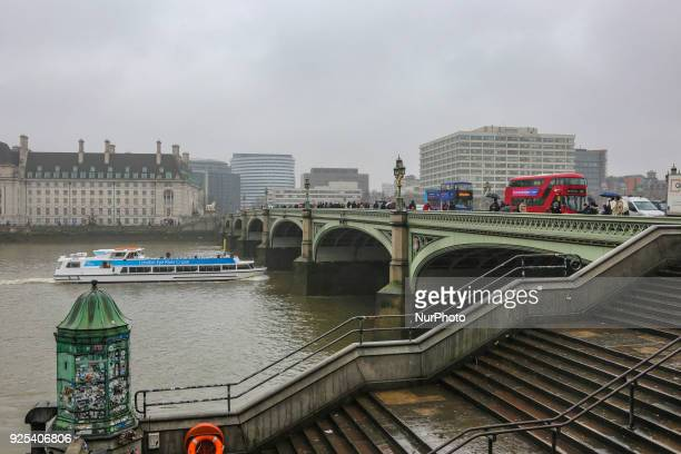 The new iconic buses in the streets of London the red double decker Routemaster buses They were introduced in 1956 Nowadays the buses are moving with...