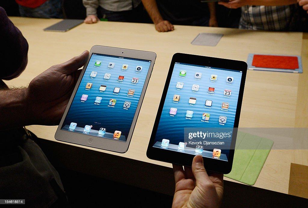 Apple Introduces Latest iPad : News Photo