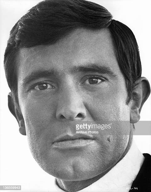 The new James Bond George Lazenby in a scene from the film 'On Her Majesty's Secret Service' 1969