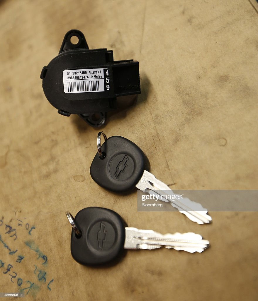 The New Keys And Ignition Switch That Will Be Installed In A General Motors  Co.