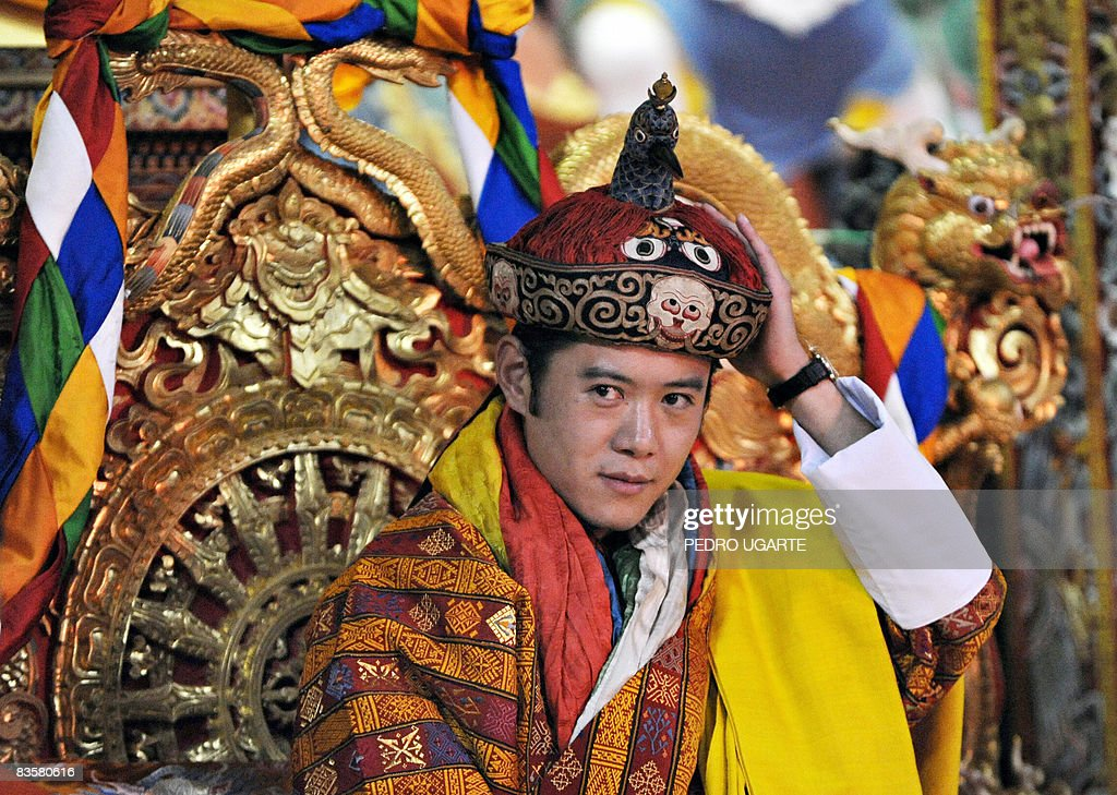 The new king of Bhutan, Jigme Khesar Nam : News Photo