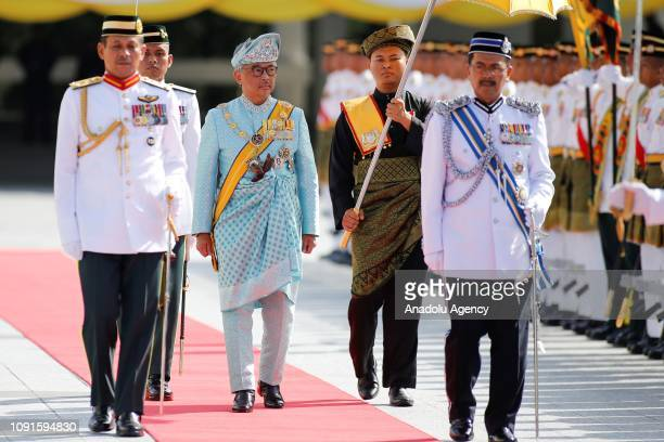The new King of Malaysia the sixth Sultan of Pahang AlSultan Abdullah Ri'ayatuddin AlMustafa Billah Shah Ibni Sultan Ahmad Shah AlMusta'in Billah...