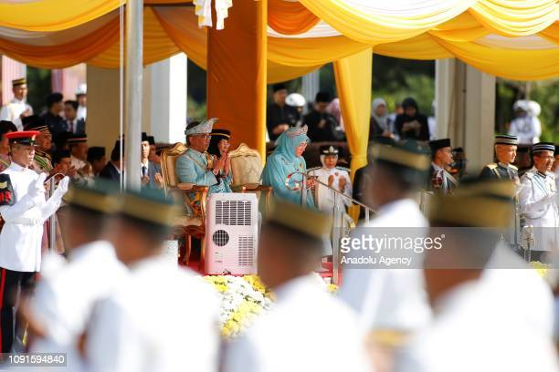The new King of Malaysia the sixth Sultan of Pahang AlSultan Abdullah Ri'ayatuddin AlMustafa Billah Shah Ibni Sultan Ahmad Shah AlMusta'in Billah and...