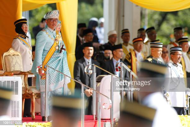 The new King of Malaysia the sixth Sultan of Pahang AlSultan Abdullah Ri'ayatuddin AlMustafa Billah Shah Ibni Sultan Ahmad Shah AlMusta'in Billah is...