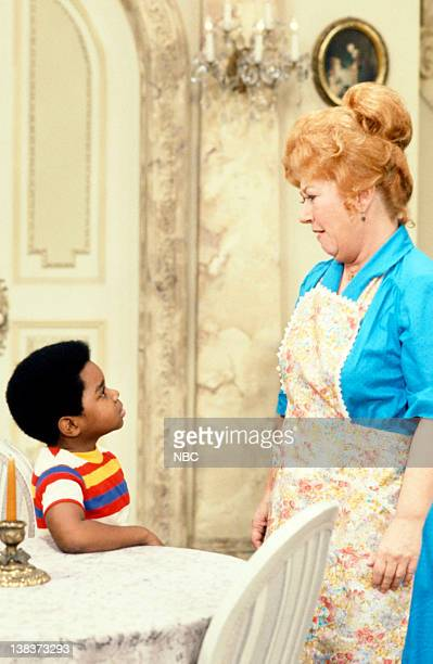 RENT STROKES The New Landlord Episode 16 Pictured Gary Coleman as Arnold Jackson Charlotte Rae as Edna Garrett