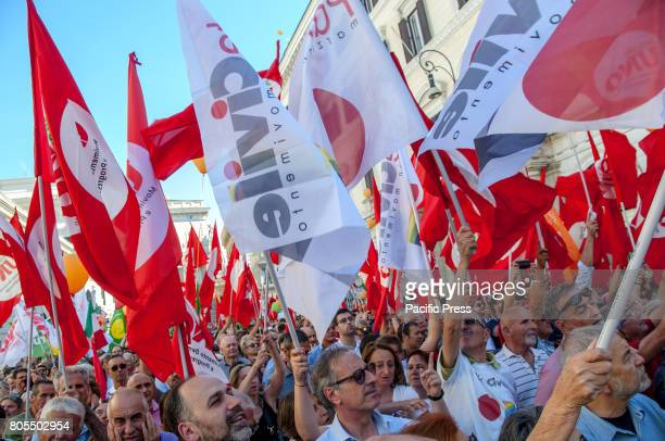 """The new Left """"together"""" Project, born from the union of 'Progressive Field' by former mayor of Milan, Giuliano Pisapia, and 'Mdp-Articolo1' by..."""