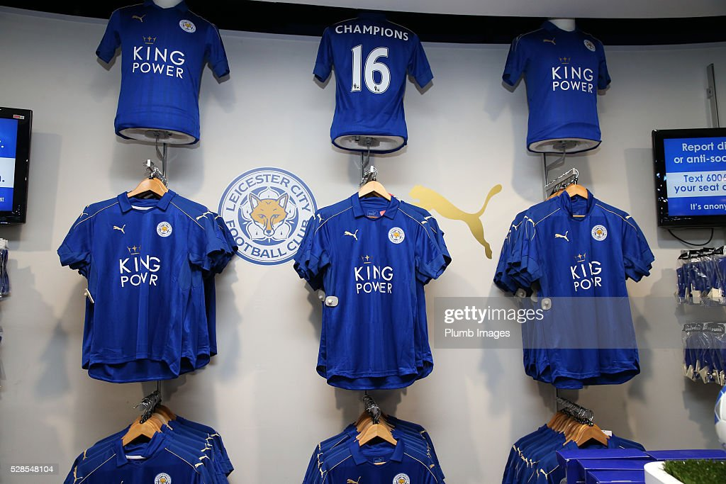 The New Leicester City Kit Goes on Sale : News Photo