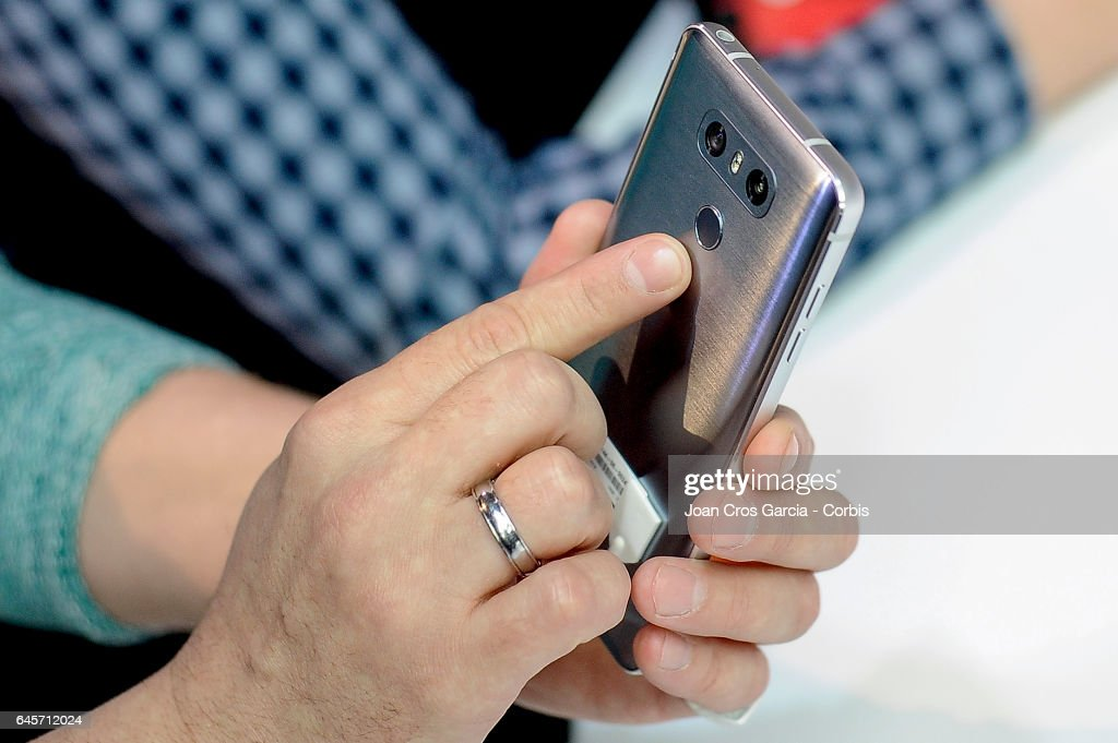LG G6 Launch At Mobile World Congress : News Photo
