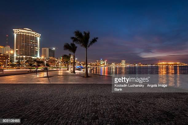 The new Luanda waterfront