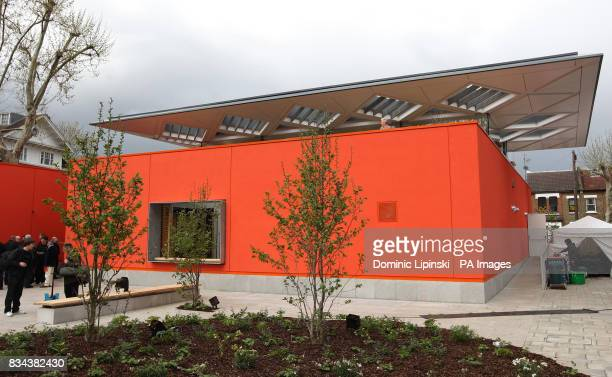 The new Maggie's Cancer Caring Centre at Charing Cross Hospital London The new 3 million centre designed by architect Richard Rogers is the first...