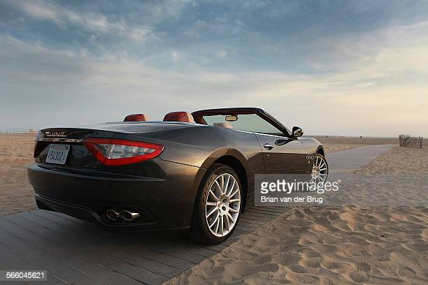 The new Maserati Gran Turismo convertible Maserati's all–new cabriolet or Gran Cabrio as it is also called Photographed in Santa Monica on April 17...