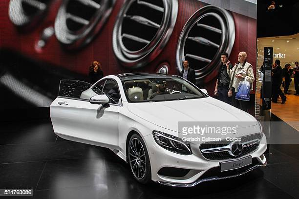 The new Mercedes Benz C-Class Coupe, revealed and on show at the 84th Geneva International Motor Show, March 5th, 2014.