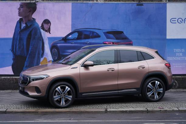 DEU: Mercedes-Benz Debuts New EQA Electric SUV