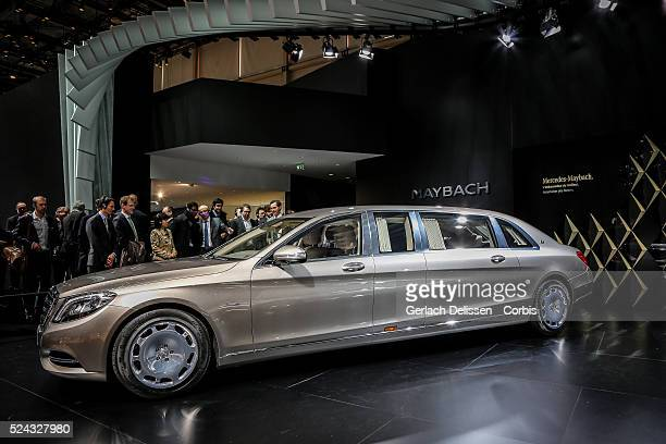 The new MercedesMaybach on display at the 85th Geneva International Motor Show March 4th Switzerland