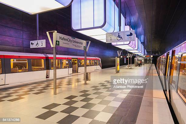 The new metro station of Hafencity