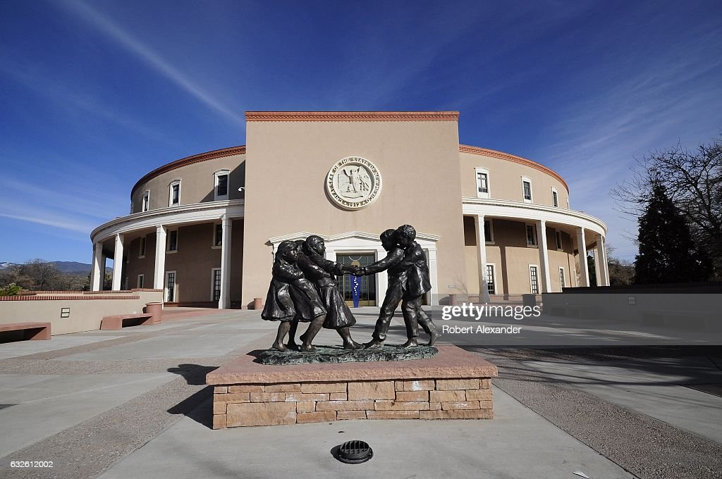 Santa Fe, New Mexico : News Photo