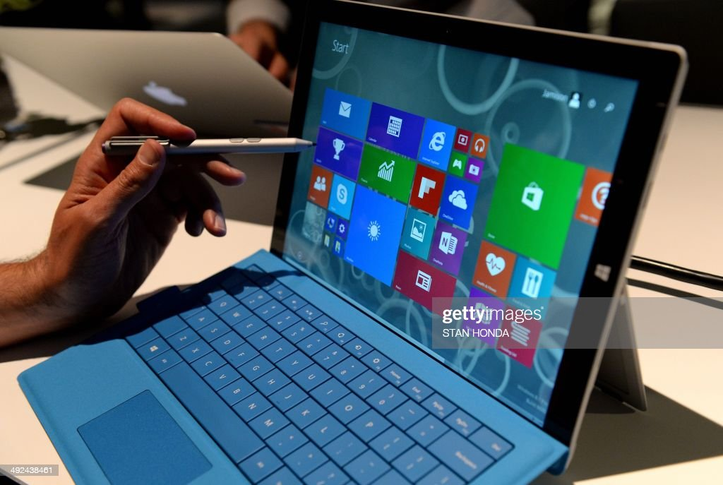 The new Microsoft Surface Pro 3 tablet with detachable