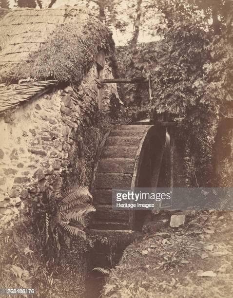 The New Mill, near Lynton, North Devon, 1856. Artist John Percy.