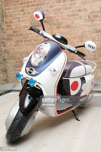 The New Mini Scooter E Concept Stock Photos And Pictures Getty Images