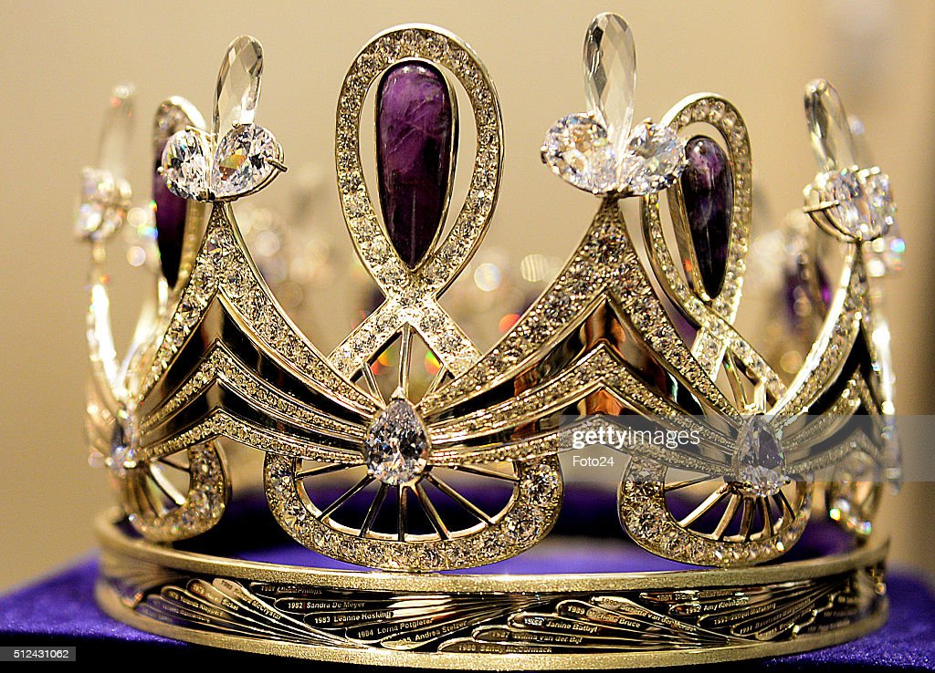 New Miss South Africa Crown Unveiled : News Photo