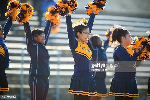 The New Mission cheerleaders motivated their team The New Mission High School and Burke High School football teams faced off for the first time at...