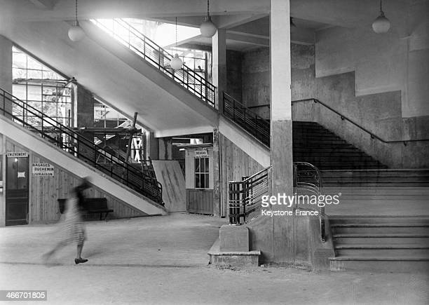 The new Montparnasse station after extension in December 1929 in Paris France
