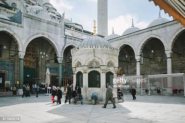 Die neue Moschee, Istanbul, Türkei