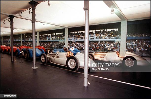 The new national car museum of Mulhouse in Mulhouse France on March 25 2000