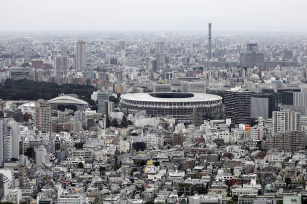JPN: Views From Shibuya Sky Observation Deck Ahead of Tankan Survey