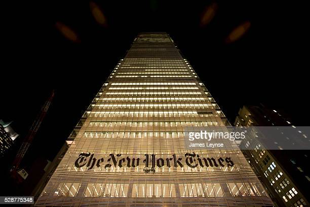 The new New York Times Building in New York The 52 story office tower at 620 Eighth Avenue in Manhattan was designed by Renzo Piano Building Workshop...