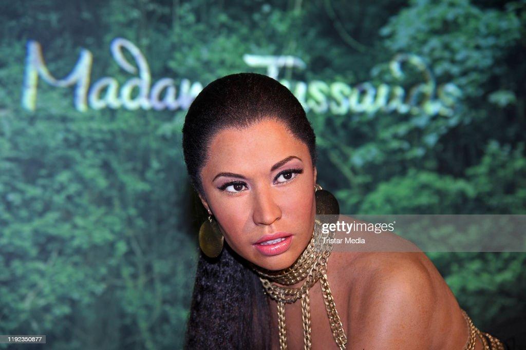 Evelyn Burdecki Unveils Wax Figure Of Nicki Minaj At Madame Tussauds Berlin : News Photo