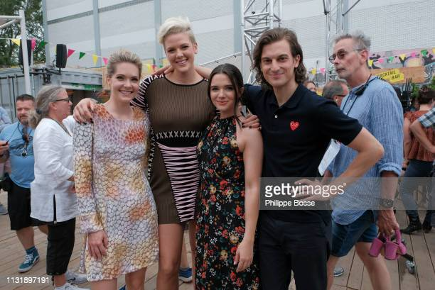 """The New Normal"""" - Picking up right after the heartbreak, romances and uncertainties from the season two finale in Paris, Jane, Kat and Sutton are..."""