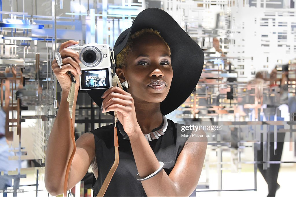 The new Olympus PEN E-PL7 camera is presented at the Photokina 2014 trade fair on September 15, 2014 in Cologne, Germany. Photokina is the world's largest trade fair for cameras and photographic equipment.
